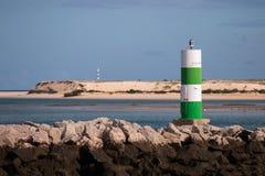 Малый маяк в fuseta Стоковые Изображения RF