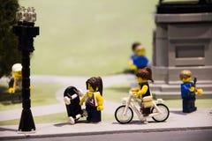 Малый мир lego Стоковые Изображения
