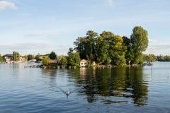Малый остров в Берлине Стоковое Изображение RF