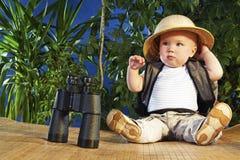 малый путешественник Стоковые Изображения RF