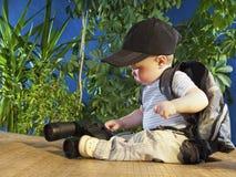 малый путешественник Стоковое Изображение RF