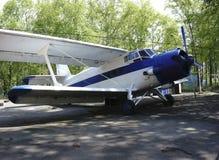 Малый самолет с винтом Стоковое Изображение