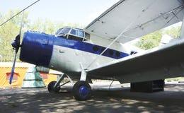 Малый самолет с винтом Стоковое фото RF
