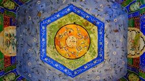 Малый симфонизм в цвете в потолке стоковое изображение