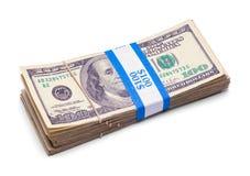 Малый 100 стогов доллара Стоковая Фотография