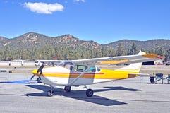 Малый штатский самолет авиации Стоковая Фотография