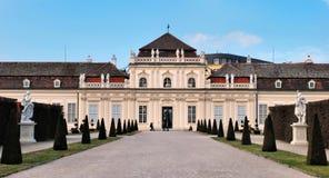 Малый Belvedere дворца Стоковое фото RF