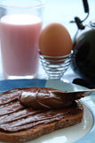 малыши завтрака здоровые Стоковые Изображения