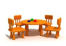 малыши мебели Стоковые Фотографии RF