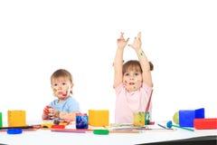 малыши образования Стоковое Изображение