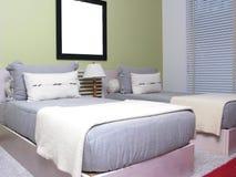 малыши спальни Стоковое Фото