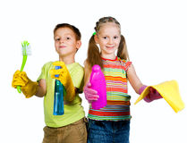Малыши с тензидом стоковые изображения rf