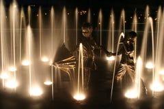 малыши фонтана стоковые изображения rf