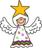 малыш ангела иллюстрация вектора