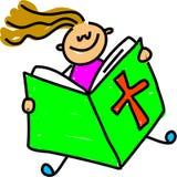 малыш библии иллюстрация вектора