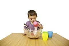 малыш выпечки Стоковое фото RF