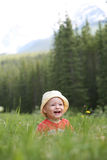 Малыш в парке Стоковые Фотографии RF
