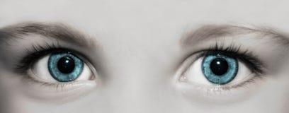 малыш глаз Стоковая Фотография