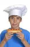 Малыш горячей сосиски. Стоковое фото RF