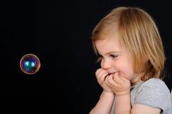 малыш девушки увлекательности Стоковое Изображение