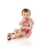 малыш девушки стоковые изображения rf