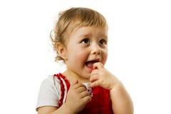 малыш девушки Стоковое Изображение