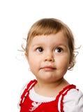 малыш девушки стоковая фотография