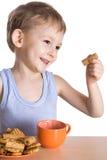 малыш завтрака Стоковые Фотографии RF