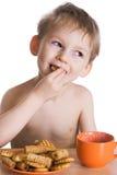 малыш завтрака Стоковые Изображения RF