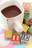 малыш какао Стоковая Фотография RF