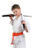 малыш карате Стоковые Фотографии RF