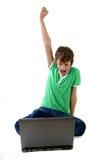 малыш компьютера Стоковые Фото