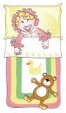 малыш кровати Стоковое Изображение RF
