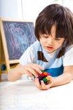 малыш мальчика творческий Стоковые Фотографии RF