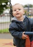 Малыш на качании Стоковые Изображения RF