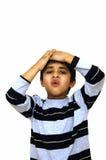 малыш несчастный стоковое изображение rf