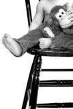 малыш ног Стоковая Фотография