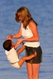 малыш полностью доверяя Стоковое Изображение RF