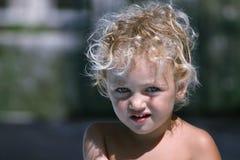 малыш портрета Стоковые Изображения RF