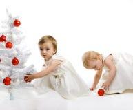 малыш рождества меньший вал стоковые фотографии rf