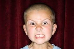 малыш спутывая Стоковая Фотография