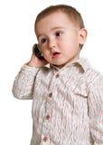 малыш телефона Стоковая Фотография RF