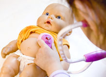 малыш доктора Стоковое фото RF