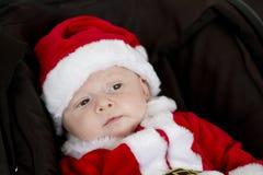 малыш santa Стоковые Изображения