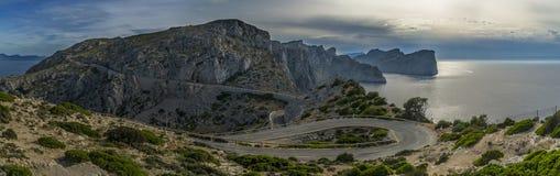 Мальорка, покрывает Formentor Стоковые Изображения RF