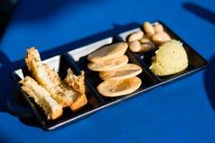 Мальтийсный диск закуски в ресторане Стоковое Изображение RF