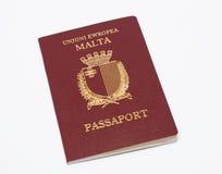 мальтийсный пасспорт Стоковые Фотографии RF