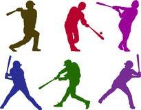 мальчики бейсбола Стоковые Фотографии RF
