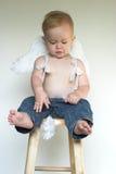 мальчик ангела Стоковое Фото