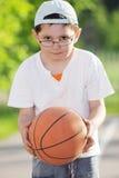 мальчик баскетбола Стоковая Фотография RF